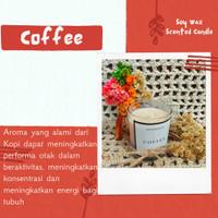 Coffee Lilin Aroma Terapi | Scented Candle