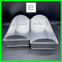 Loyang Kue Sisir Cetakan Roti Sisir Aluminium