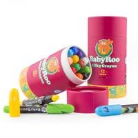 Joan Miro Babyroo Washable Silky Crayon Baby Roo Krayon Face Painting
