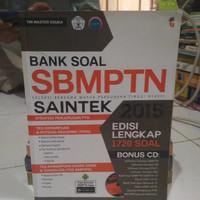 Buku Original Bank soal SBMPTN Saintek 2015
