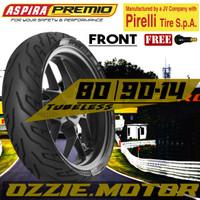 ASPIRA PREMIO SPORTIVO 80 90 - 14 BAN MOTOR MATIK MIO BEAT TUBELESS