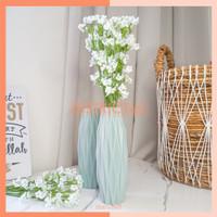Bunga Hias Plastik Artificial BABY BREATH WHITE Hiasan Wedding Bouquet