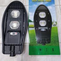 PJU cobra solar all in one 100w lampu jalan solar panel ada remote