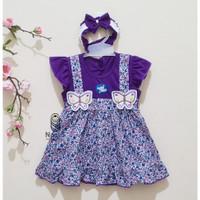 PK0214 - Baju Bayi Perempuan umur 0 - 12 Bulan
