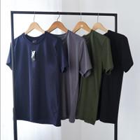 Beachwell BASIC T-SHIRT MONOCHROME Baju Kaos polos Katun Premium 24s