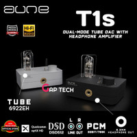 AUNE T1s / T 1s / T1 s Dual-Mode Tube DAC with Headphone Amplifier