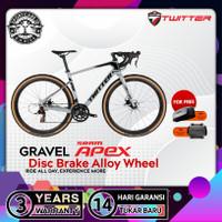Twitter Roadbike GRAVEL Sram Apex 11 Speed Sepeda Balap