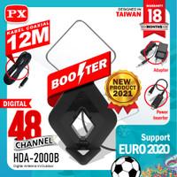 PX HDA ANTENA TV DIGITAL bisa untuk tv tabung led lcd indoor terbaik