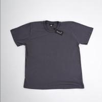 Beachwell BASIC T-SHIRT MONOCHROME Baju Kaos polos Katun Premium 24s - Abu-abu, S