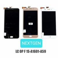 LCD + TOUCHSCREEN OPPO F1S / A59 ORIGINAL FULLSET - Hitam Putih