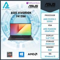 Asus Vivobook F412DA AMD Ryzen 3 3250 8GB 256ssd Vega3 W10 14.0FHD - UNIT