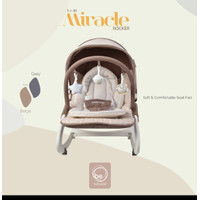 bouncer baby elle uc 40 activity rocker select beige colour
