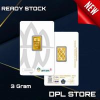 3 Gram Emas / Antam / Certicard / Certieye / NewPress