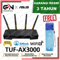 ASUS TUF-AX3000 AX3000 Dual Band WiFi 6 Gaming Router with AiMesh