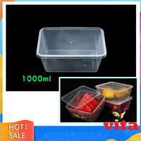 Thinwall 1000ml Food Container Polos 50pcs