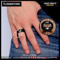 Ring Cincin Muslim Allah SIZZ 222RR Titanium Black