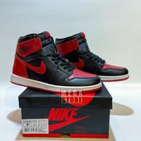 Nike Air Jordan 1 Retro Banned Bred Black Red BNIB PERFECT PAIRS