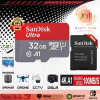 SanDisk Ultra Memory Card Kartu Memori 32GB MicrosdSD Class 10 A1