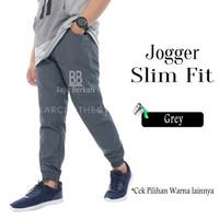 Baju Berkah - Celana Jogger Slimfit Unisex / Jogger SlimFit M - 3XL