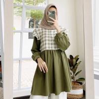 Isma Tunik Atasan Baju Muslim Korean Style Wanita Terbaru & Terlaris