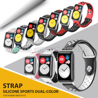 Tali / Strap Sports Silicone Watch Band Wrist Bracelet for Huawei Fit