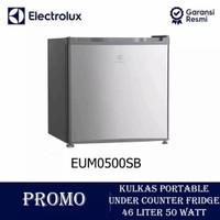 Kulkas portable/mini bar ELECTROLUX EUM0500SB silver