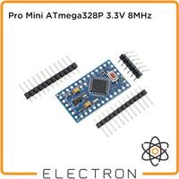 Pro Mini ATmega328P 3.3V 8MHz Microcontroller Board Arduino Clone