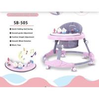 Preloved Space Baby Walker SB 505 Pink