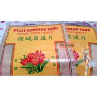 Kulit Kembang Tahu Bunga Merah Penang 75gr Tofu beancurd skin