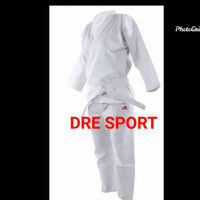 Baju karate bahan goni tebal berat 1 kg S,M,L,XL - M