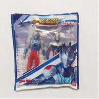 Sofubi Hero Ultraman Z - Ultraman Zero & Z alpha edge ori BANDAI