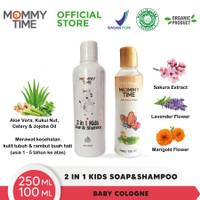 Mommy Time Kids Shampoo & Body Soap (2in1) 250ml