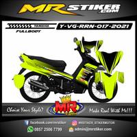 Stiker Decal Motor Yamaha Vega RR FullBody Stiker Premium Grafis Race