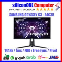 "Samsung Odyssey G3 - 24"" 24G35 144Hz 1ms Gaming Monitor FHD"