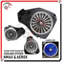 COVER TUTUP RADIATOR NMAX N MAX AEROX LED KIPAS