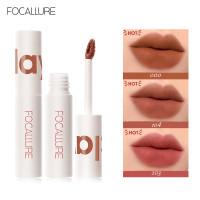 FOCALLURE LIPSTICK Cream Velvet-Mist Matte Lip Clay #JasmineMeetsRose