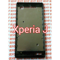 Original Frame Depan - Frame LCD Sony Xperia J - ST26i - ST26 - ST26a