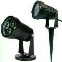 LAMPU OUTDOOR SOROT LED UNTUK TAMAN / HALAMAN 3 & 5 WATT PUTIH KUNING