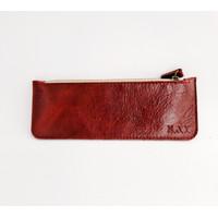 Kay Leather Pencil Case Tempat alat tulis