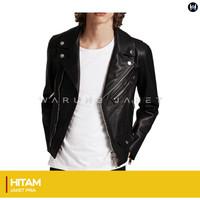 Jaket kulit Sintetis Grade A Rock Style WJS99 PU LEATHER SEMIKULIT