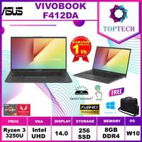 Asus Vivobook F412DA AMD Ryzen 3 3250 8GB 256ssd Vega3 W10 14.0FHD