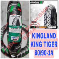 80/90-14 Kingland Tiger - Ban Motor Ring 14 Tubeless - Ban Motor Matic