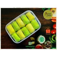 Pancake Durian Original Pandan Medan ( Isi 10, 15, 21 )