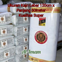 Kain Kafan/Kain Mori Cap Lion Gold L-120cm x P-50m Kualitas Super