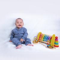 Colson.id - baby Play Knit Set / Kaos Bayi/ Baju Bayi/ Play Suit Bayi