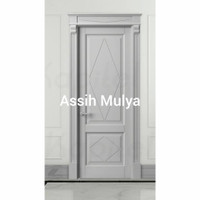 kusen+pintu kamar dari bahan kayu mahoni oven
