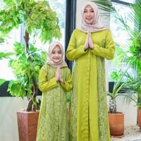 Baju Kapel Ibu dan Anak Perempuan Terbaru/Gamis Kapel Terbaru