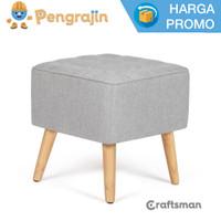 Acient stool / kursi busa kotak kayu minimalist - Anthelia