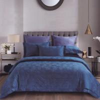 Sleep Buddy Set Sprei dan Bed Cover Navyan Aetest Jacquard Cotton - Single Size