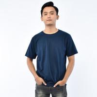 SEYES T3038 Tumblr Tshirt Pria Atasan Kaos Pria Warna Navy
